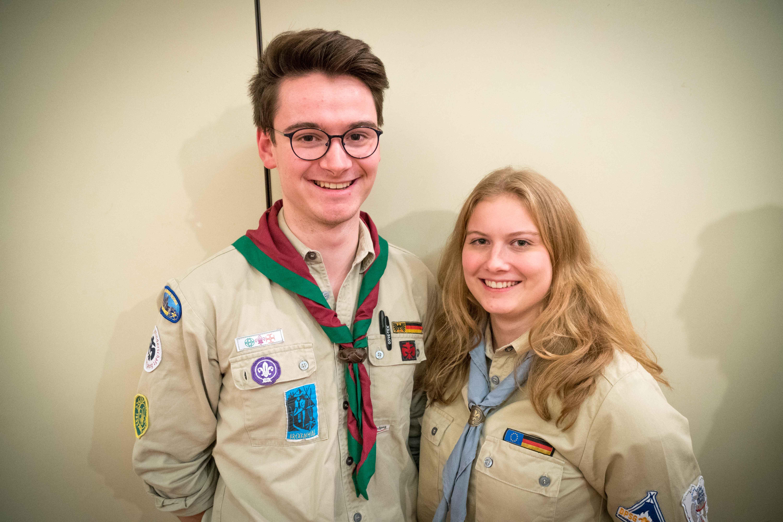 Vorsitzende DPSG Heimbach-Weis (Jens Kahn & Miriam Brog)