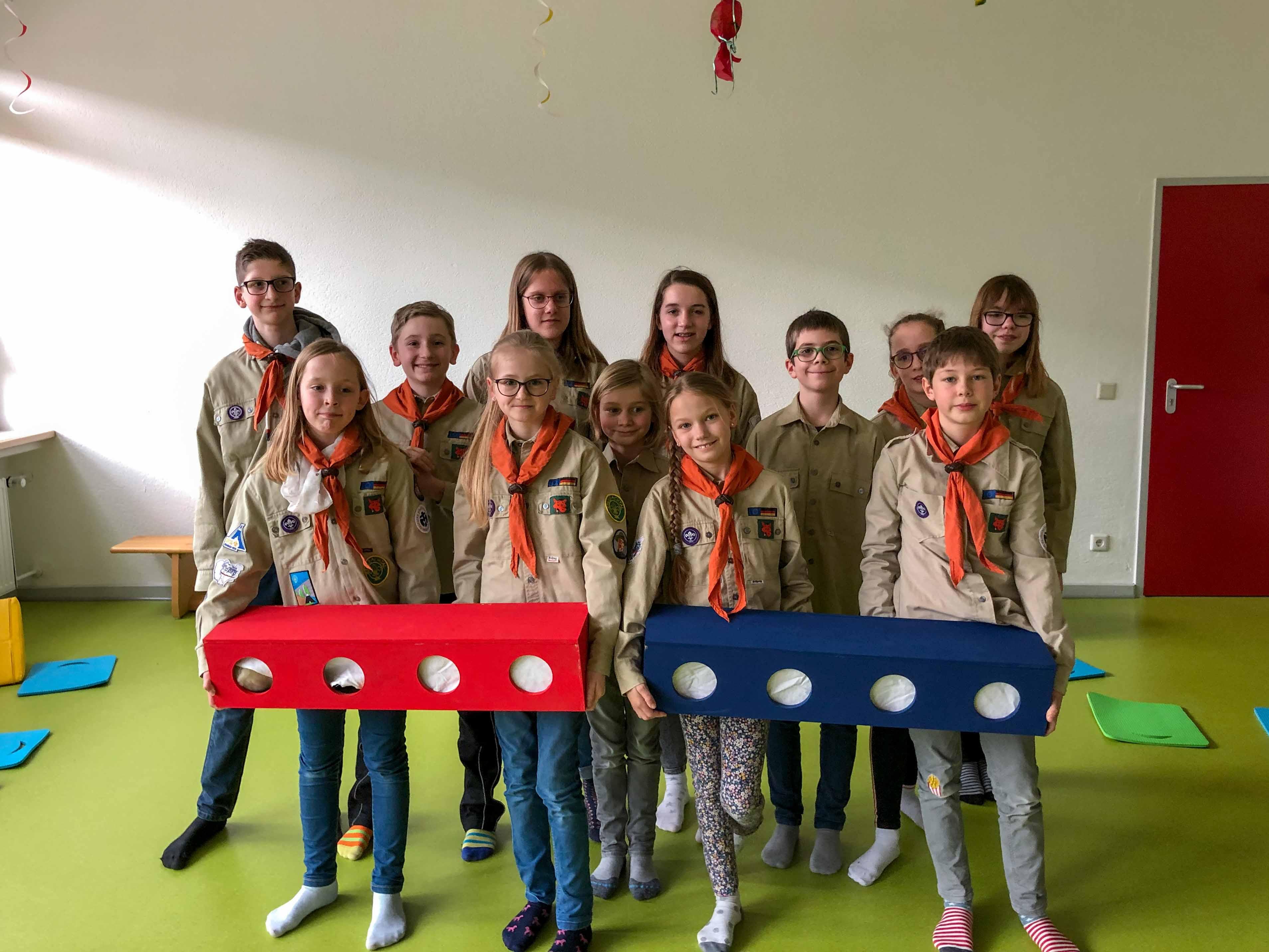 Fühlkisten für den Kindergarten Rommersdorf